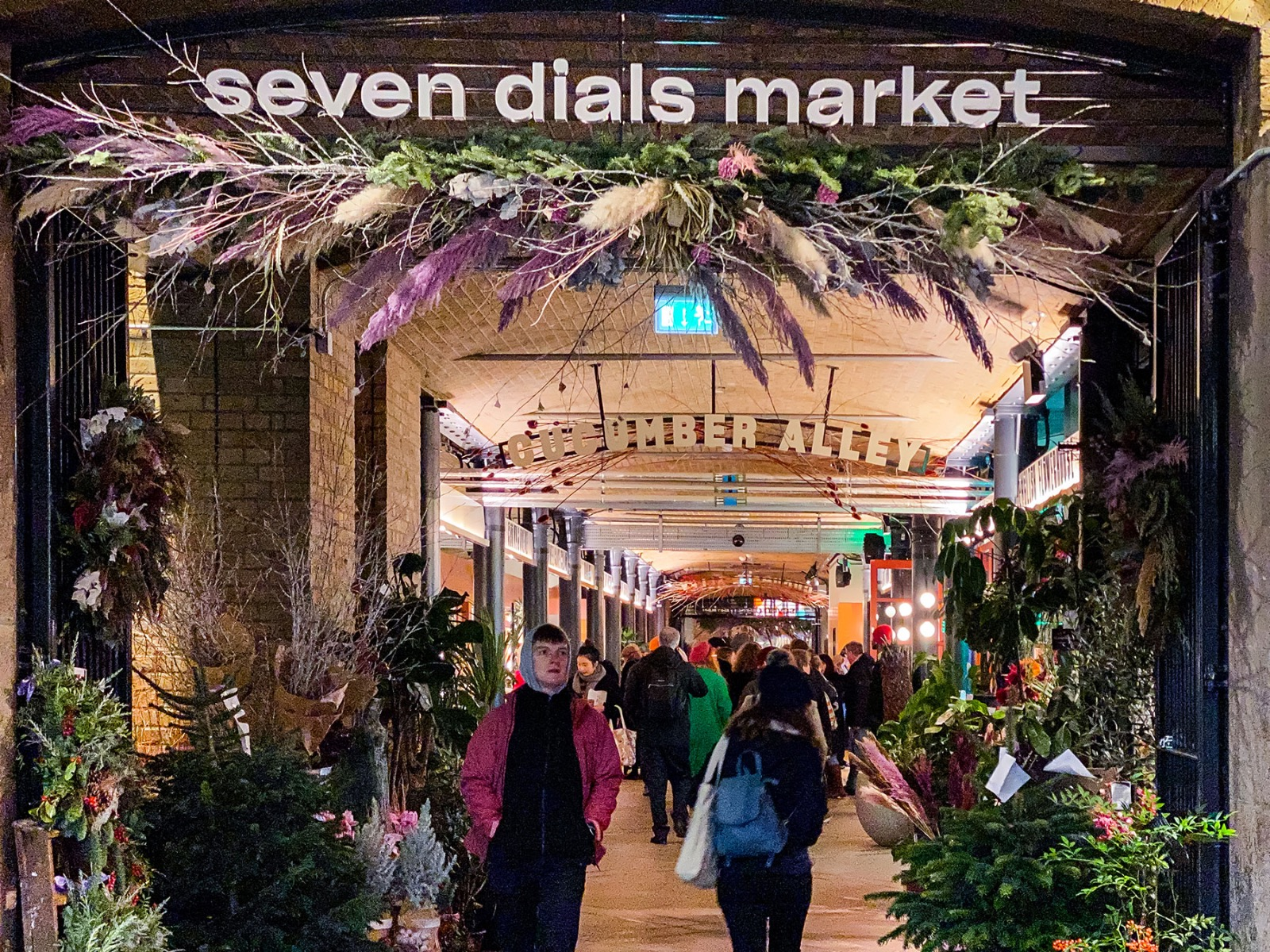 SEVEN DIALS MARKET by KERB | LONDON